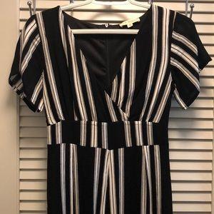 LA Hearst Striped Jumpsuit